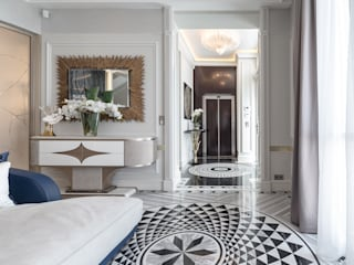 Interior design of a villa In Monte-Carlo, Monaco Classic style living room by NG-STUDIO Interior Design Classic