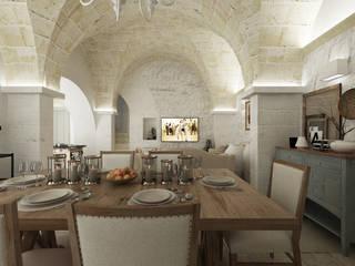 Salas de estilo  por De Vivo Home Design
