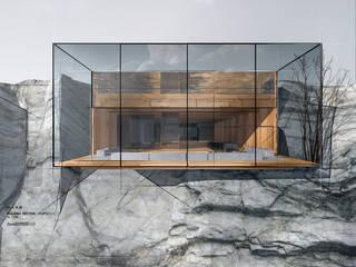 Casas de estilo minimalista de ARCH.625 Minimalista