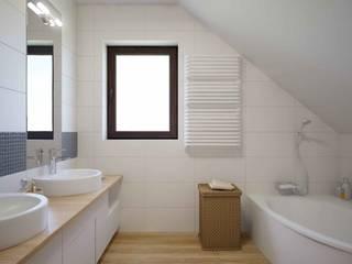 po remoncie oleba.pl projekt łazienka duża: styl , w kategorii Łazienka zaprojektowany przez ABC Remonty Oleba