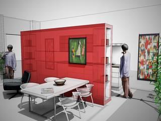 iL Living di Manuela:  in stile  di TheWorkInProgress Studio Interior Design