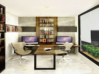 Study/office by PROYECTA_, Minimalist