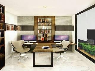 ESTUDIO BUGA: Estudios y oficinas de estilo  por PROYECTA_,