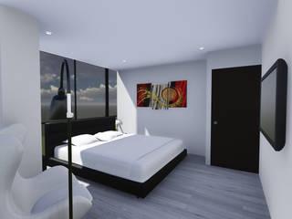 EDIFICIO EZKINA Habitaciones de estilo minimalista de Corte Verde SAS Minimalista