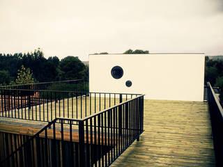 Terrasse von m2 estudio arquitectos - Santiago, Mediterran