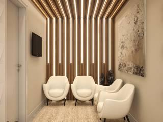 Area de Espera: Clínicas  por Camila Pimenta | Arquitetura + Interiores