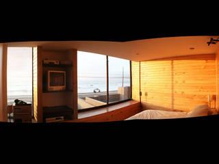 Casa Pazols Dormitorios de estilo moderno de m2 estudio arquitectos - Santiago Moderno