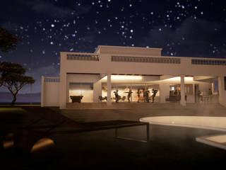 Villa de style  par homify, Classique Briques