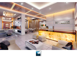 ฺฺInterior Design : Beauty & Slim Spa :  คลินิก by Blufox eco-solution Co., Ltd.