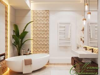 Salle de bain classique par Компания архитекторов Латышевых 'Мечты сбываются' Classique