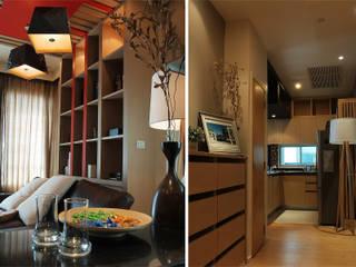 Private Suite Pilaster Studio Design ห้องนั่งเล่น