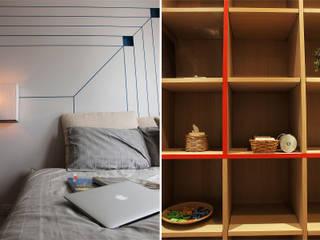 Private Suite:  ห้องนอน by Pilaster Studio Design