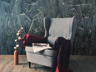 """Декоративная плитка из бетона. Коллекция Луга"""" от Архитектурно-производственная группа ИОЛЛА Эклектичный"""