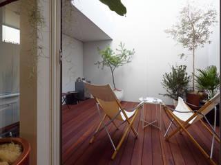 インナーコート: タイコーアーキテクトが手掛けた庭です。