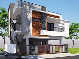 Front Elevation:  Houses by Klass Designers and Contractors
