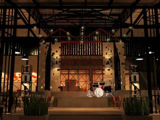 The truss Pub & restaurant Pilaster Studio Design