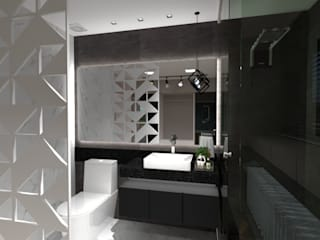 Kamar Mandi Modern Oleh Cláudia Legonde Modern