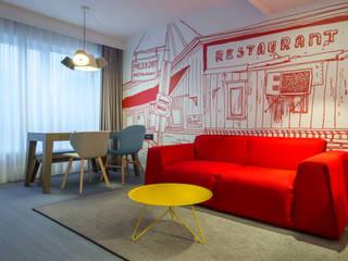 Parker al Radisson Red di Brussel:  in stile  di MilanoBedding