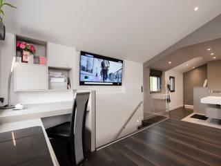 Rénovation maison Lyon réHome Escalier Effet bois
