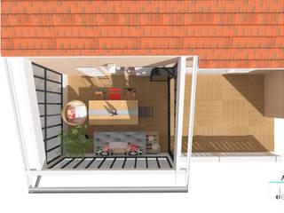 Balcones y terrazas industriales de 1.61 design Industrial