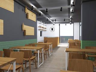 Bider Mimarlık İnşaat Ltd. Şti. – Müdavim Pide Salonu Şili Meydanı Şubesi:  tarz Yeme & İçme