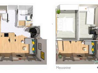 Casas estilo moderno: ideas, arquitectura e imágenes de 1.61 design Moderno
