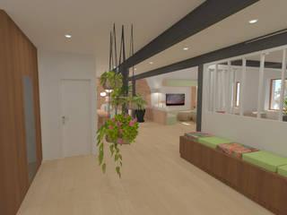 Pasillos, vestíbulos y escaleras modernos de 1.61 design Moderno