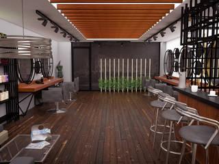 Atölye Teta – Konsept Kuaför Projesi: modern tarz Oturma Odası