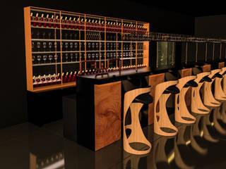 Atölye Teta – Konsept Lux Restaurant Projesi: modern tarz Yemek Odası
