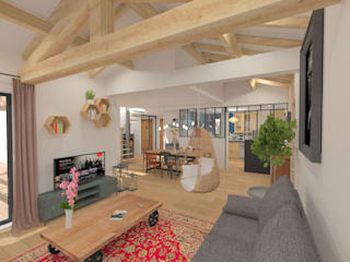 Livings de estilo moderno de 1.61 design Moderno