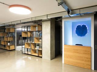 ADG İç ve Dış Tiç. – Gri Cretif Ofis Projesi:  tarz Ofis Alanları