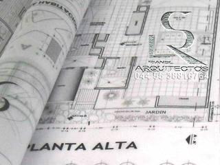 Dibujo de planos Arquitectónicos de Casa habitación digitalizados en AutoCAD de RIANSLARQUITECTOS