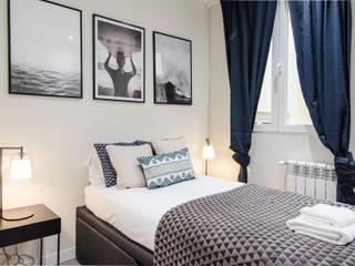 Vivienda de Rafael y Amélie Dormitorios de estilo moderno de Rez estudio Moderno