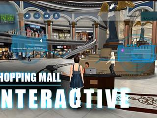Virtual Interactive shopping Mall Application By Yantram virtual reality studio New York, USA Klasik Klinikler Yantram Architectural Design Studio Klasik