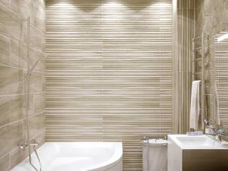 Casas de banho minimalistas por Студия интерьерного дизайна happy.design Minimalista