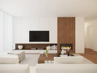 Modern living room by 411 - Design e Arquitectura de Interiores Modern