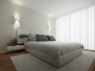 #Home for two: Quartos  por 411 - Design e Arquitectura de Interiores,Moderno