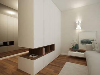 Home for Two: Quartos  por 411 - Design e Arquitectura de Interiores,Moderno