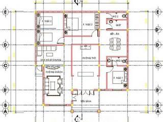 Thiết kế nhà 1 tầng anh Đăng - Bắc Giang:   by Nha Dep Pro