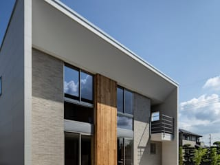 松岡淳建築設計事務所 Rumah Modern