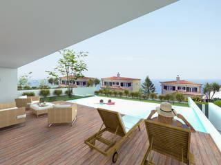 Ocean Villas | Living Concept at Ribamar | Ericeira por DR Arquitectos Moderno