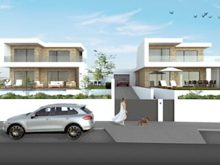 DR Arquitectos Multi-Family house