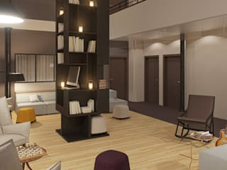 Maison Nô – Hôtel Hôtels modernes par Studio Rémi BOUHANICHE Moderne