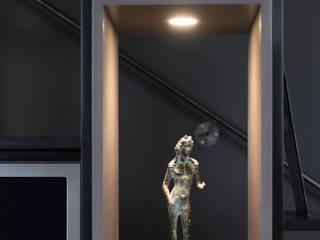 Bibliothèque réHome Couloir, entrée, escaliersEclairage