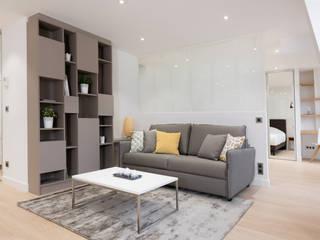 Projet 3D appartement réHome Salon moderne
