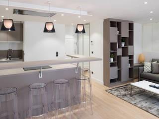 Projet 3D appartement réHome Éléments de cuisine