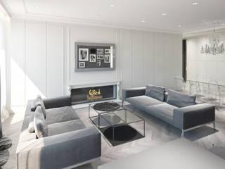 Plan 3D réHome Salon minimaliste