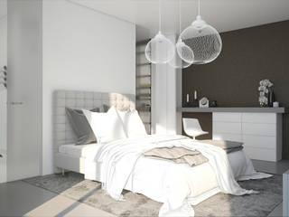 Plan 3D appartement réHome Chambre moderne