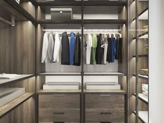 Plan 3D appartement réHome Dressing moderne