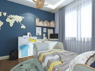 Erkek Çocuk Odası homify Modern Ahşap Ahşap rengi